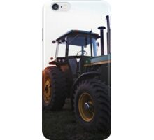Tractor Morning iPhone Case/Skin