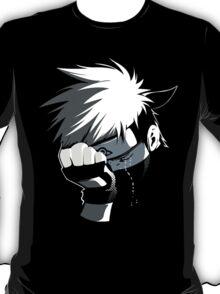 kakashi w/ black n white T-Shirt