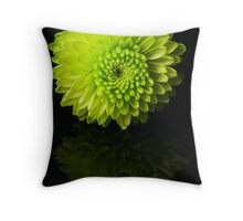 Something green Throw Pillow