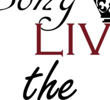 The evil queen once upon a time Sticker
