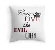 The evil queen once upon a time Throw Pillow