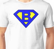 B letter Unisex T-Shirt