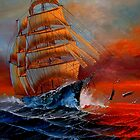 High Seas   ~ Not For Sale by NatureGreeting Cards ccwri