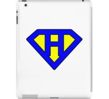 H letter iPad Case/Skin