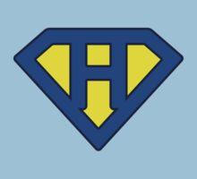 H letter Kids Clothes