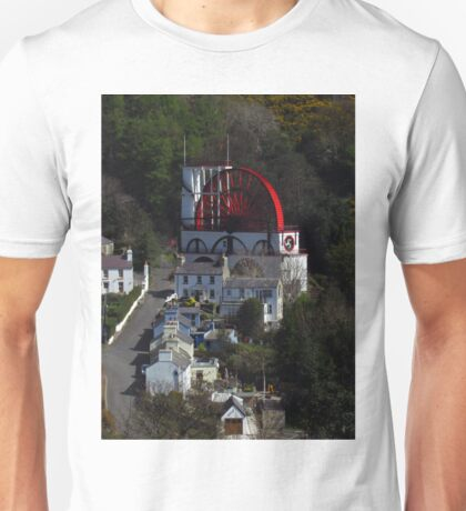 Mines Road and The Laxey Wheel Unisex T-Shirt