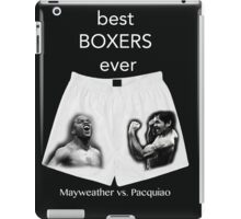 best boxers ever iPad Case/Skin