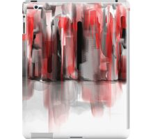 We Painted the Town Red iPad Case/Skin
