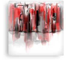 We Painted the Town Red Canvas Print
