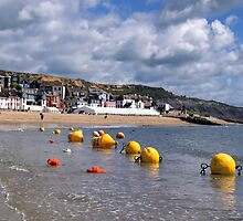 Buoys At The Beach by Susie Peek