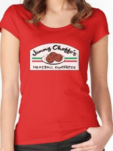 Jimmy Cheffo's Meatball Experience Women's Fitted Scoop T-Shirt