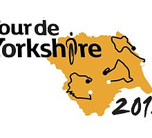 Tour de Yorkshire 2015 Route by Andy Farr
