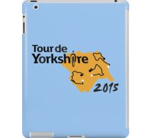 Tour de Yorkshire 2015 Route iPad Case/Skin