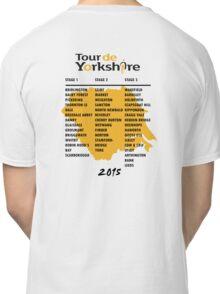 Tour de Yorkshire 2015 Tour - On back Classic T-Shirt