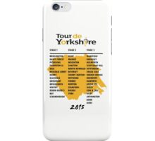 Tour de Yorkshire 2015 Tour iPhone Case/Skin