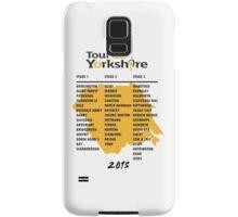 Tour de Yorkshire 2015 Tour Samsung Galaxy Case/Skin