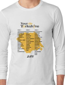 Tour de Yorkshire 2015 Tour Long Sleeve T-Shirt