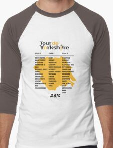 Tour de Yorkshire 2015 Tour Men's Baseball ¾ T-Shirt