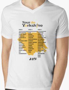 Tour de Yorkshire 2015 Tour Mens V-Neck T-Shirt
