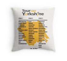 Tour de Yorkshire 2015 Tour Throw Pillow