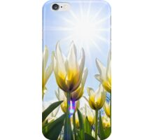 White Tulips iPhone Case/Skin
