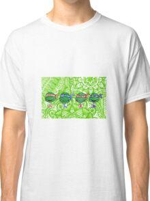 Teenage Mutant Ninja Turtles Zentangle Classic T-Shirt