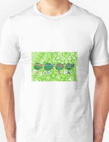 Teenage Mutant Ninja Turtles Zentangle T-Shirt
