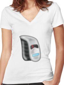Fibre Women's Fitted V-Neck T-Shirt