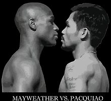 mayweather vs pacquiao by chiloy