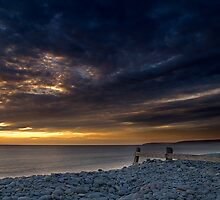 Westward Ho Pebble Ridge by Robert Kendall