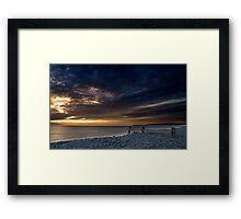 Westward Ho Pebble Ridge Framed Print