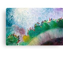 Among hills Canvas Print