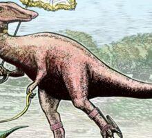Parasaur wearing Pedspeeds Sticker