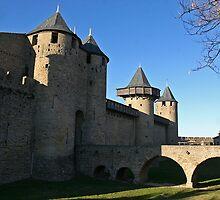Cité de Carcassonne : Le Chateau Comtal by Fran0723