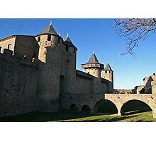Cité de Carcassonne : Le Chateau Comtal Photographic Print