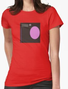Pink, Black, and Gray Shapes Womens Fitted T-Shirt