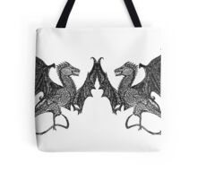 ur the yin to my dragon Tote Bag