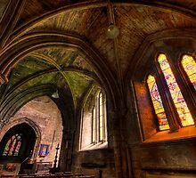 Public Chapels in Pluscarden Abbey by Fraser Ross