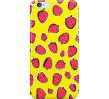 Fresas de primavera iPhone Case/Skin
