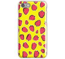 Fresas de primavera iPhone Case/Skin