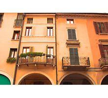 Mantua houses, Italy Photographic Print