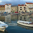 Kastel Novi harbour , Croatia by Christopher Barton