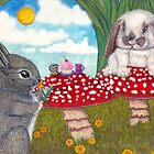 Bunny Breakfast by CiannaRose