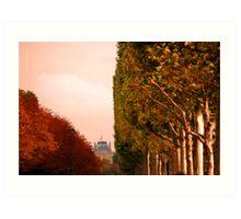 PARISIAN SKY Art Print