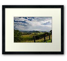 Gloucester Overview Framed Print