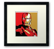 iron man Framed Print