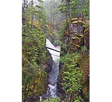 Little Qualicum Falls, Canada Photographic Print