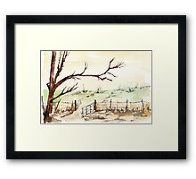 Keep wandering... Framed Print