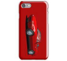 Mazda MX-5 Miata MK1 Classic Red iPhone Case/Skin