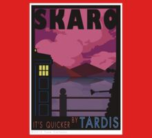 SKARO QUICKER BY TARDIS Kids Tee